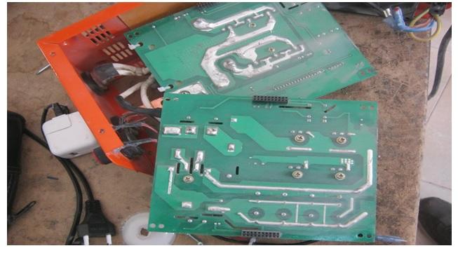 apex welding machine circuit board repair