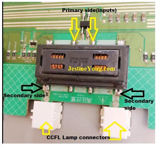 inverter lcd tv open circuit