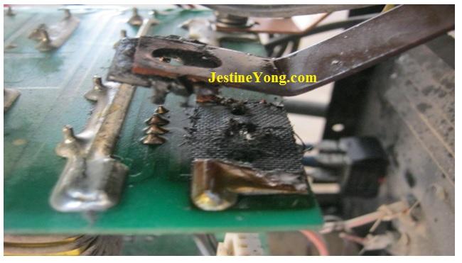welding machine fix