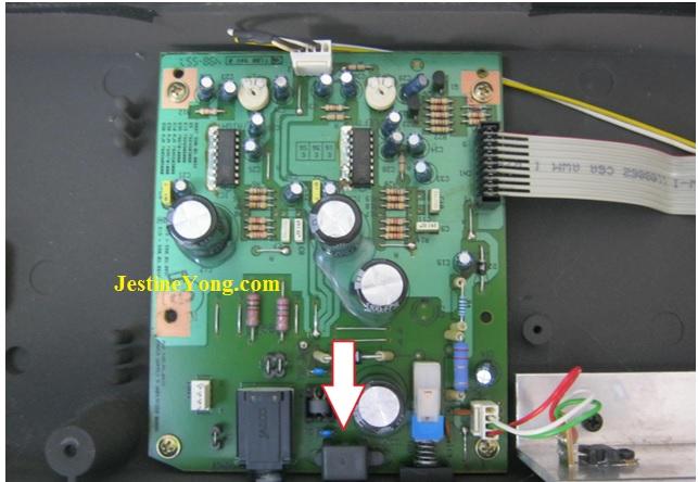 roland music keyboard circuit board repair