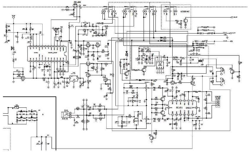 philips radio schematic diagram