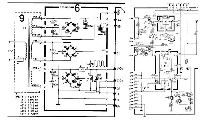 olufsen bang schematic diagram