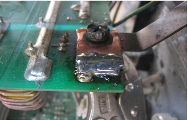 connector in welder machine