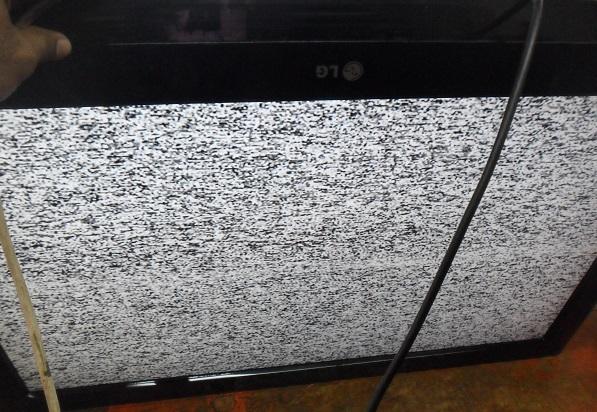 fixing a broken LG led tv