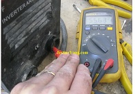 A Welding Machine Powers On But Does Not Weld Repaired. Model: INC-CO