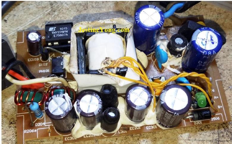 dyson vacuum cleaner power supply repair