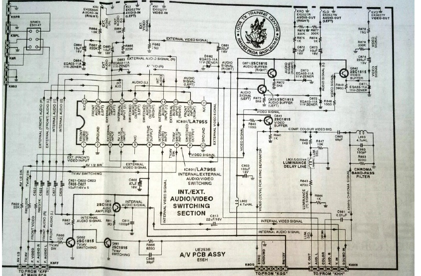 how to read tv diagram