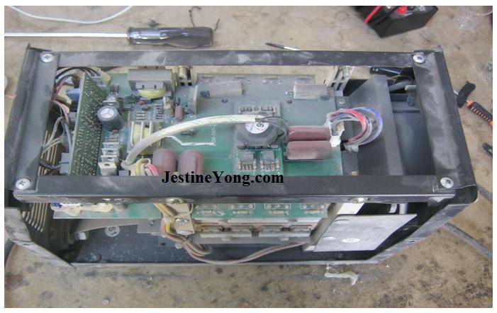 turkish welding machine fix