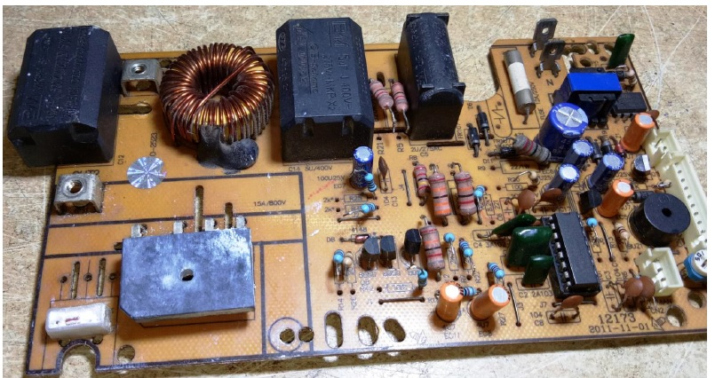 how to fix a broken omega induction cooker