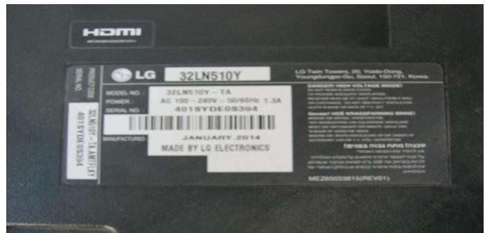 how to fix lg led tv
