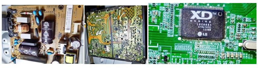 fixing tv universal board
