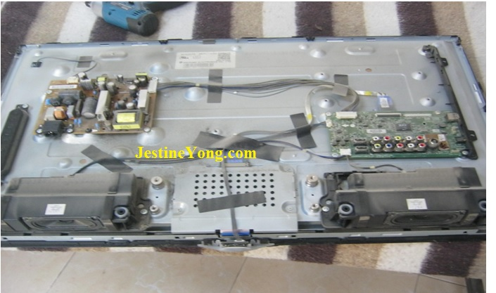 how to repair lg led tv