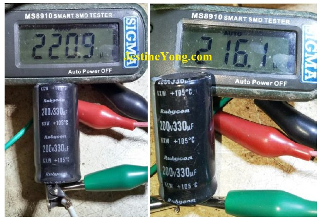 how to check capacitor