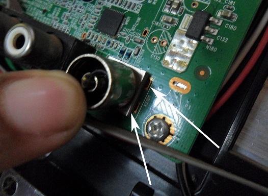 led tv antenna rf jack
