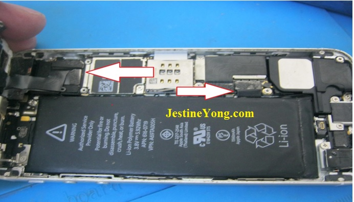 how to replace bulge battery in iphone 5s