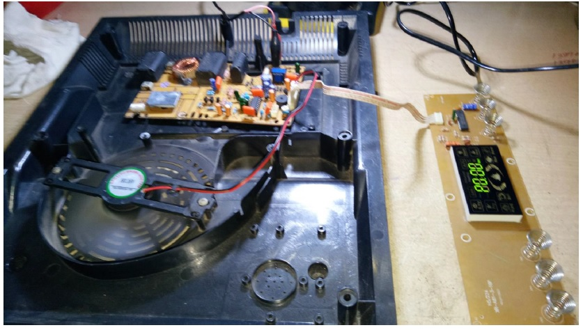 fixing induction cooker