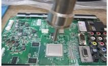 lg led tv stuck fix