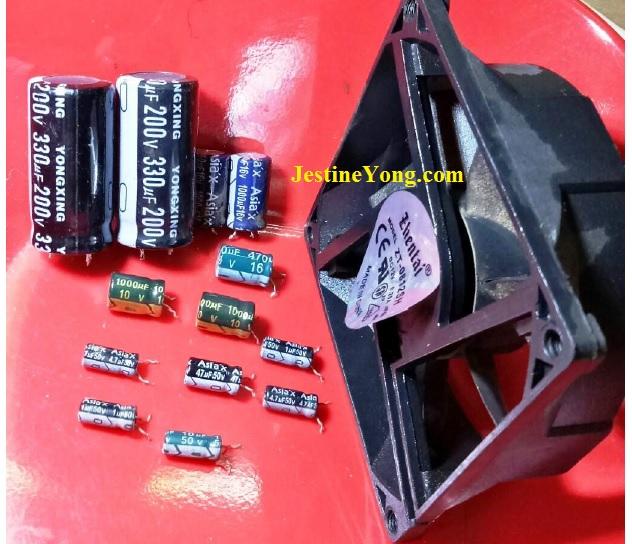 bad capacitors replacement