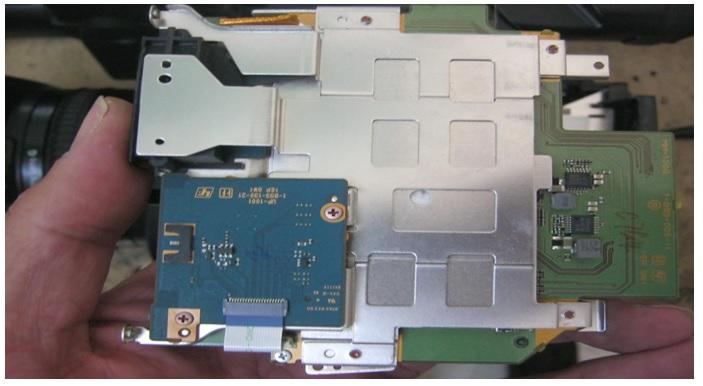 circuit board for digital camera