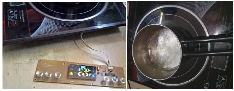 how to repair induction cooker