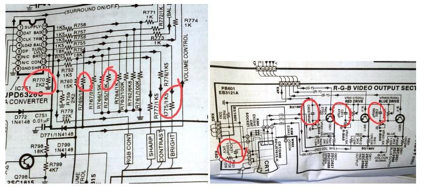 crt tv diagram bpl