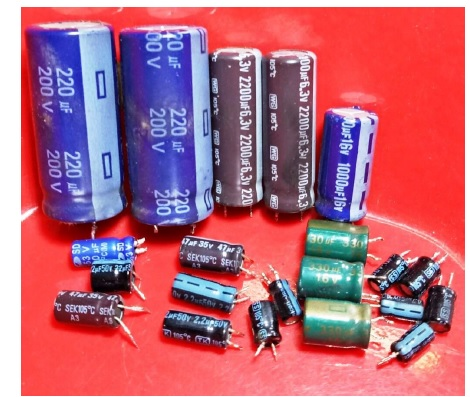 bad capacitors in power supply