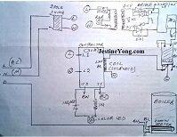 water boiler home drawn schematic