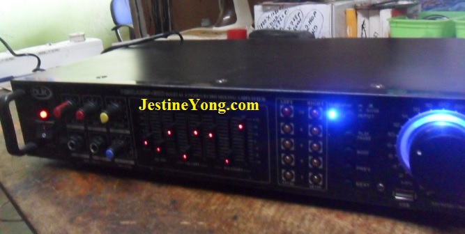 Olik Amplifier Right Channel No Sound Repaired