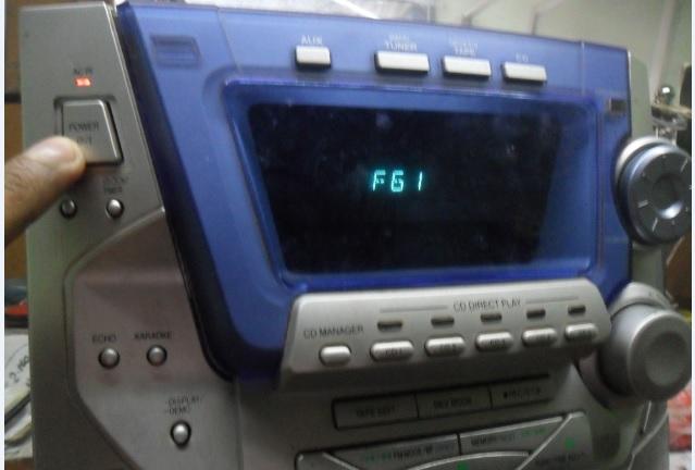 panasonic hi fi f61 repair