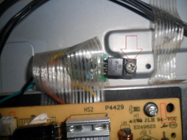 mounted power ic onto heatsink