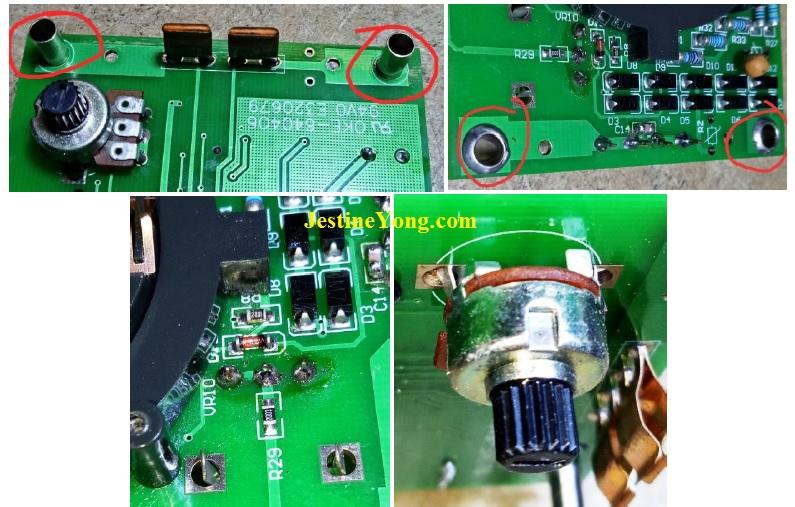 fixing LCR Meter