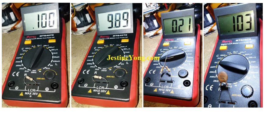 how to fix and repair a broken lcr meter