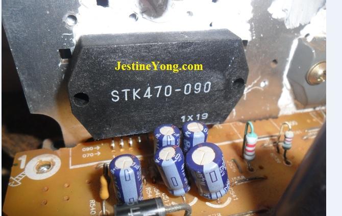 bad stk470-090 ic
