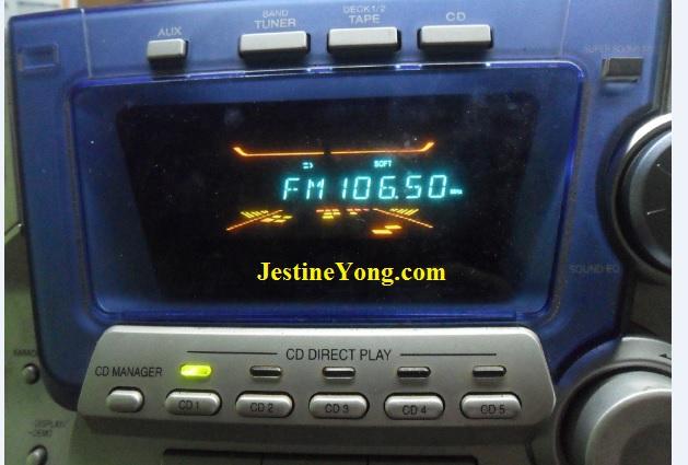how to repair panasonic hi-fi with error f61 message