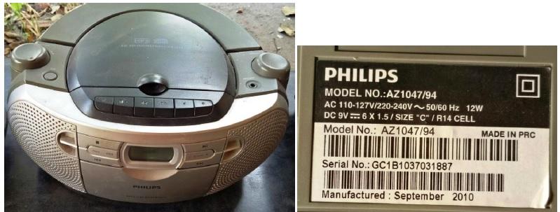 philips cd player repair