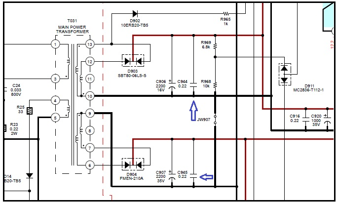 capacitor function in power supply