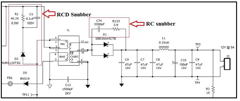 rc snubber circuit