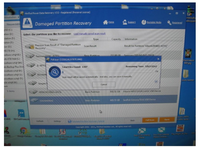 how to fix hdd using recovery software