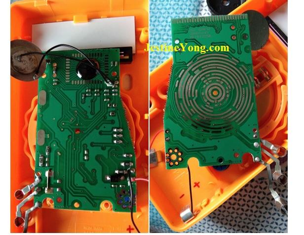 multimeter circuit board repair