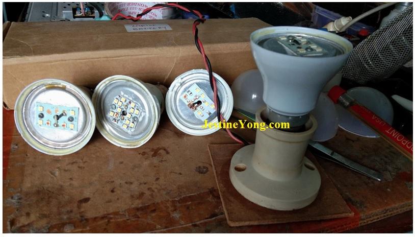 how to fix led light bulb