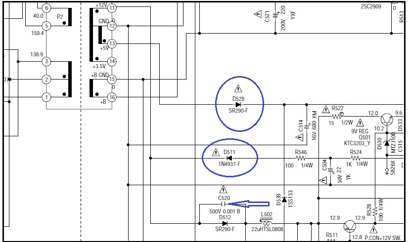 rc snubber circuit in power supply function