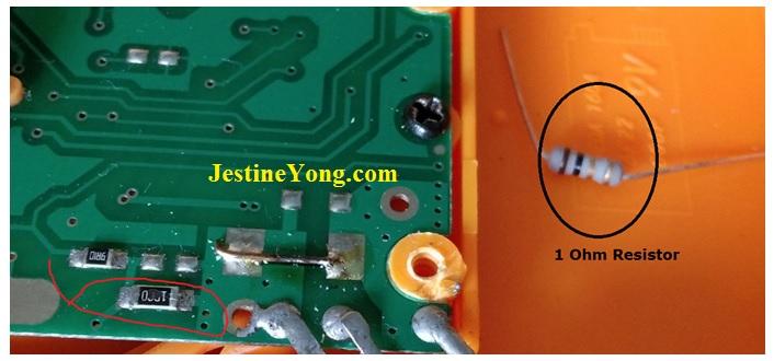 normal resistor replace smd resistor