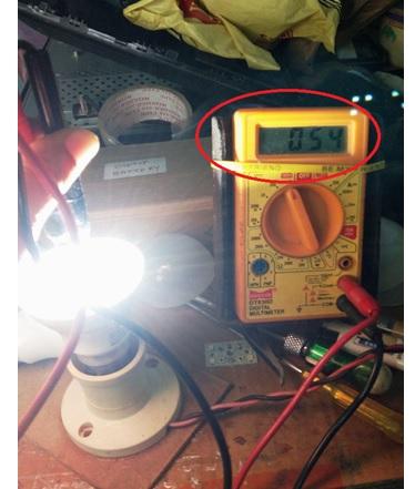 LED bulb repair