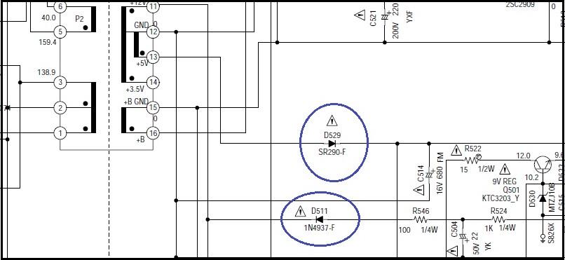 rc snubber circuit power supply diagram