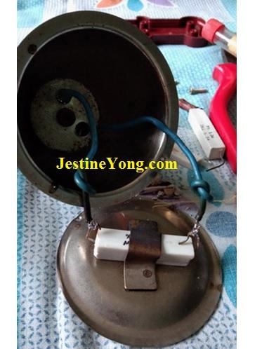 fixing camphor diffuser
