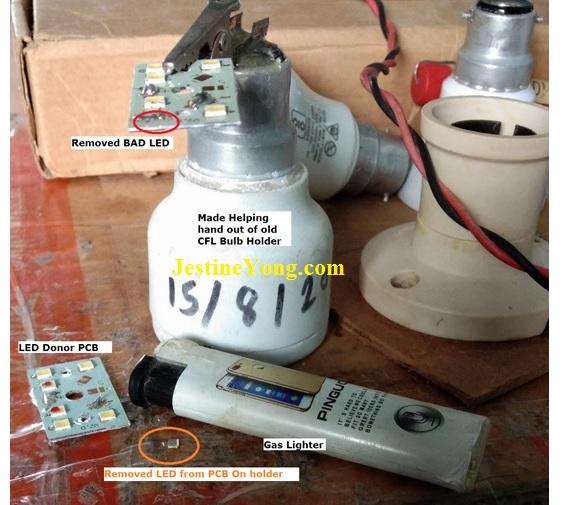 led bulb fix
