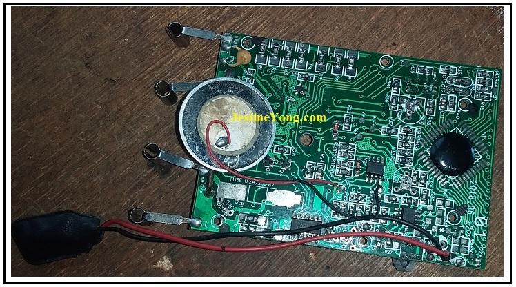 digital multimeter pcb board