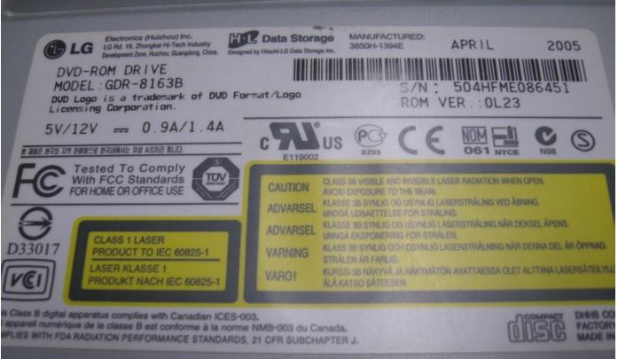 LG Pata/IDE drives