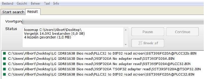 TSOP32 SST39SF020A chip