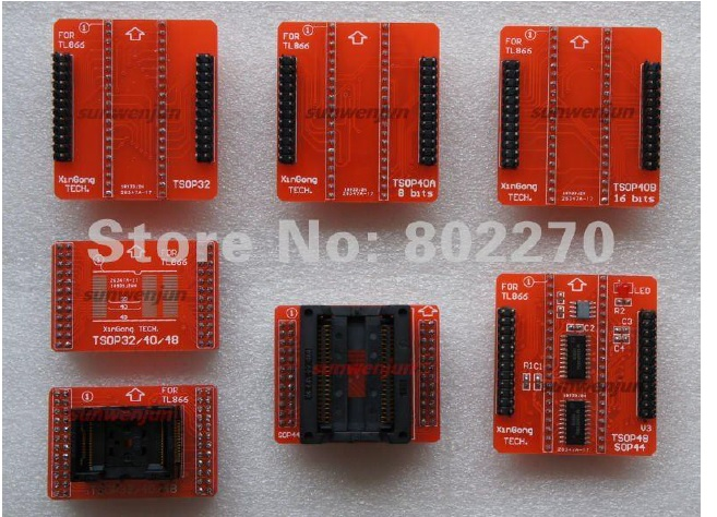 TSOP32/40 and 48 pins 8/16 bits!